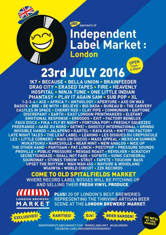 Indie Label Market summer_poster 2016